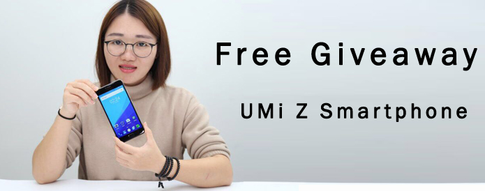 2017 New Giveaway - UMi Z Deca-Core Helio X27 SmartPhone in Chinavasion!