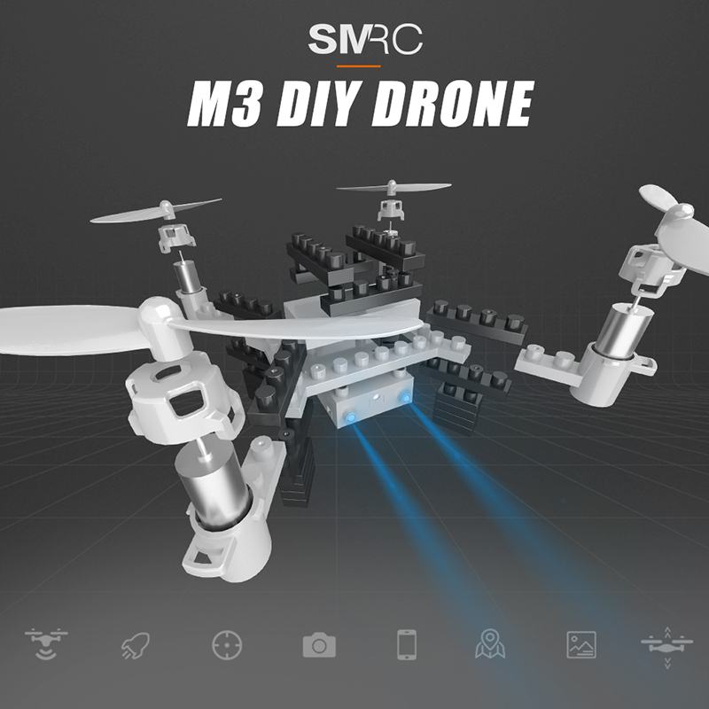 Cool do it yourself electronic gadgets video although the m3 diy block drone is not your ordinary high end quad copter it still is a fun electronic gadget that lets you fly through the skies solutioingenieria Image collections