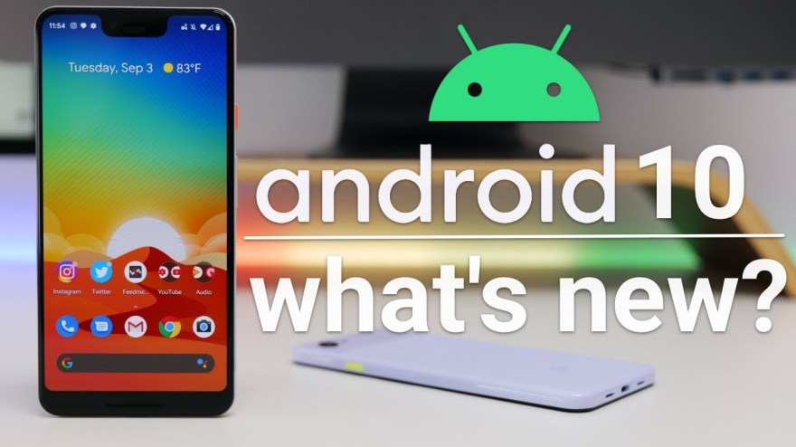 Android 10 release soon