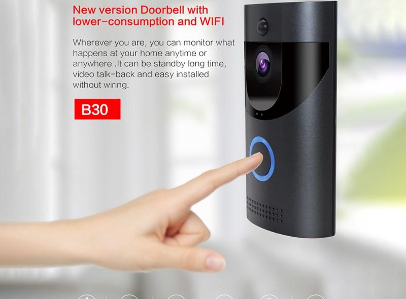 useful gadget, smart doorbell