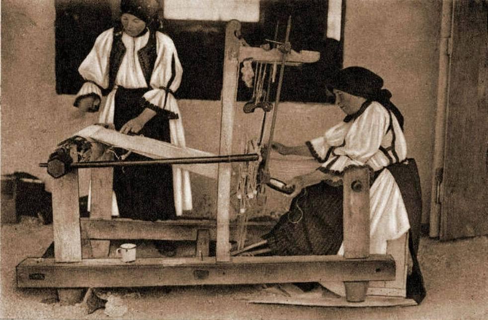 Tisserandes roumaines, 1938 ©Satele din Romania
