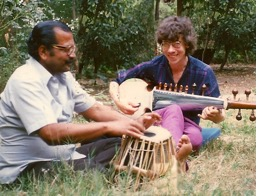 Kp and me on tabla and sarod