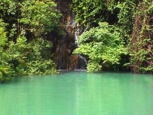 Pool beneath Badem spring
