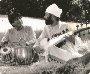 Gurdev Singh with Latif Ahmed Khan