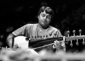 Amjad Ali Khan in the late seventies