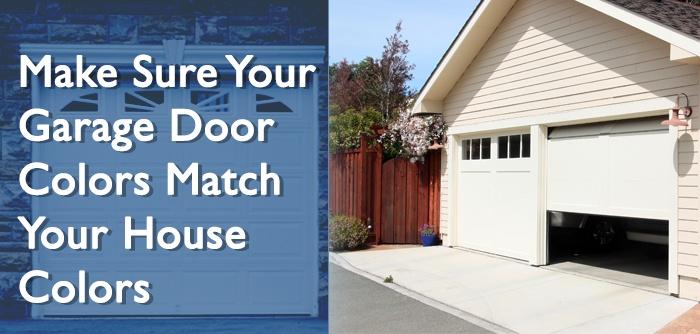 5 Tips To Make Sure Your Garage Door Colors Match Your ... on Garage Door Colors  id=97569