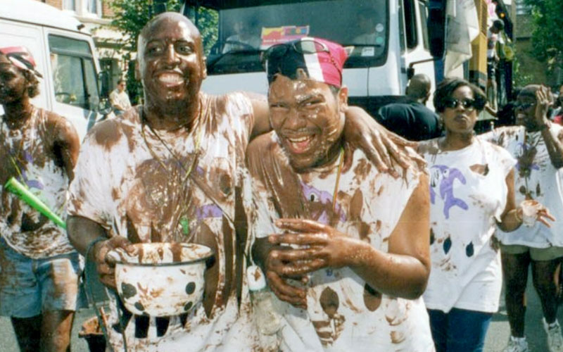 Pure Lime celebrations at Notting Hill Carnival, 1997. Photo courtesy Pure Lime.