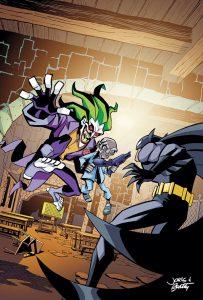 Batman Strikes #28 Cover Colors