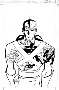 JL Adv #26 cover inks