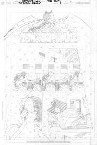 Batman Strikes #8 - Title Page