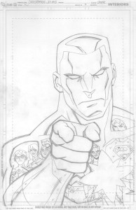 Young Justice #9 - cover pencils
