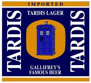 Tardis Lager label