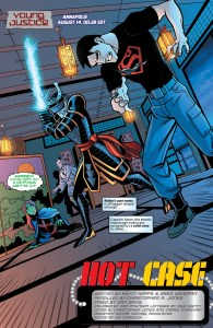 Young Justice #10 page 1