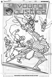 YJ #10 cover sketch d