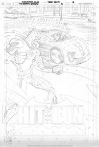 Strikes #16 - Title Page pencils