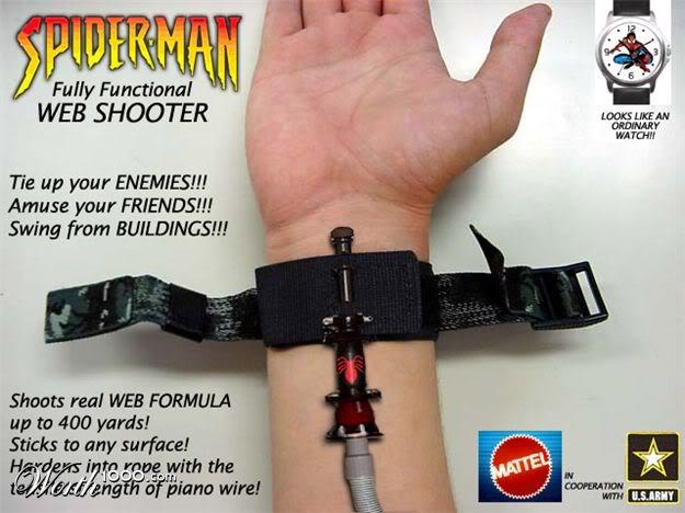 Web Shooter ad