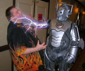 Chris & Cyberman