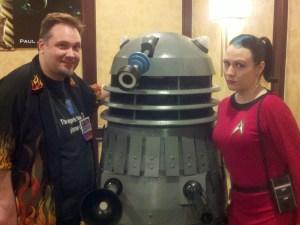 Chris & Dalek & Hal
