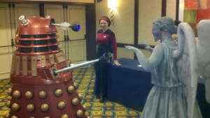 Dalek vs Angel w Hal