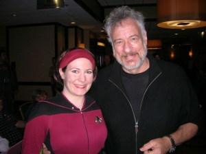 Hal with John DeLancie