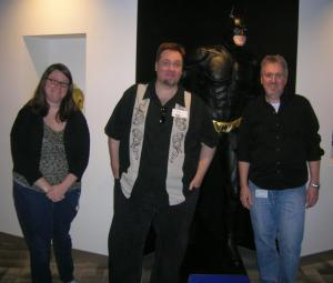Saray Gaydos, Jim Chadwick, Batman and Me