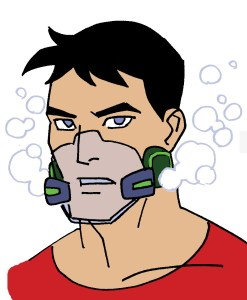 Superboy Underwater Mask