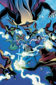 Young Justice #14 - Cover Color