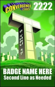 #CVG2005 - Teen Badge
