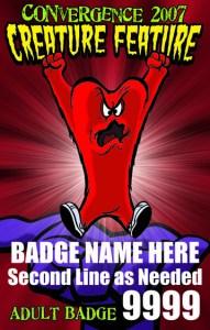 #CVG2007 - Adult Badge