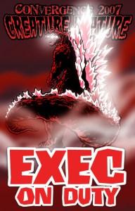 #CVG2007 - Exec on Duty