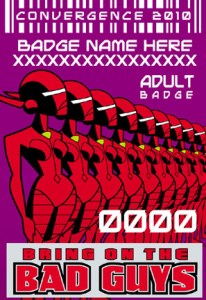 #CVG2010 - Adult Badge