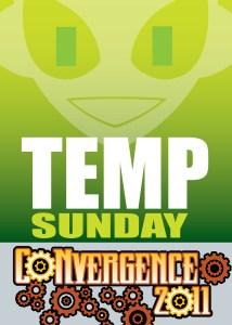 #CVG2011 - Temp Sunday