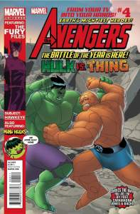 Avengers: EMH #4 cover