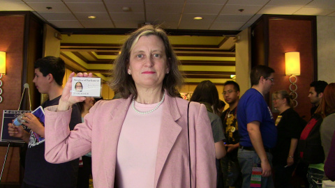 Bridget Landry as Harriet Jones Photo by Susan Fox