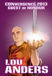 CVG 2013 GoH Badge - Lou Anders prev