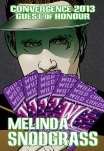 CVG 2013 GoH Badge - Melinda Snodgrass prev