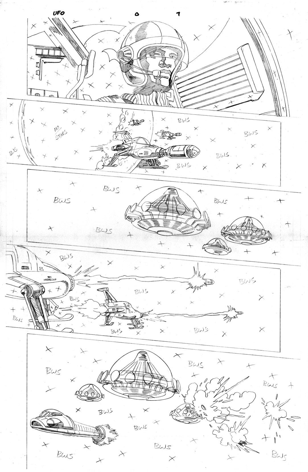 Gerry Anderson's UFO – part 2 | Christopher Jones Comic Art