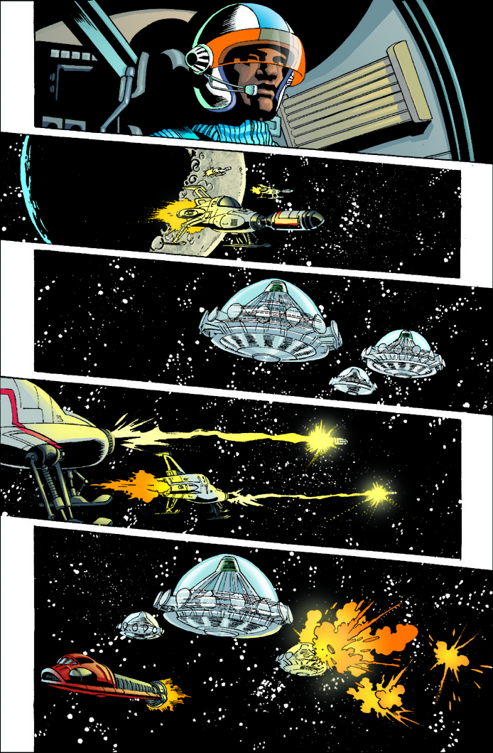 Gerry Anderson's UFO | Christopher Jones Comic Art and