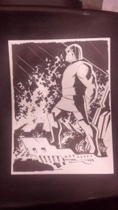 CCE13 Sketch - Darkseid