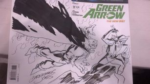 CCE13 Sketch - Etrigan Green Arrow