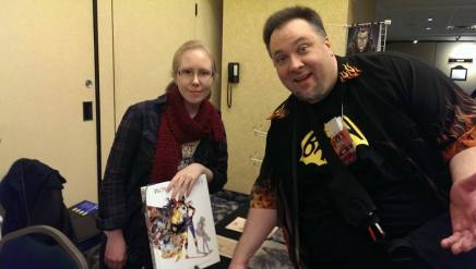 CK Russell and me at Hal-Con