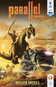 Parallel Man: Invasion America #1 Cover