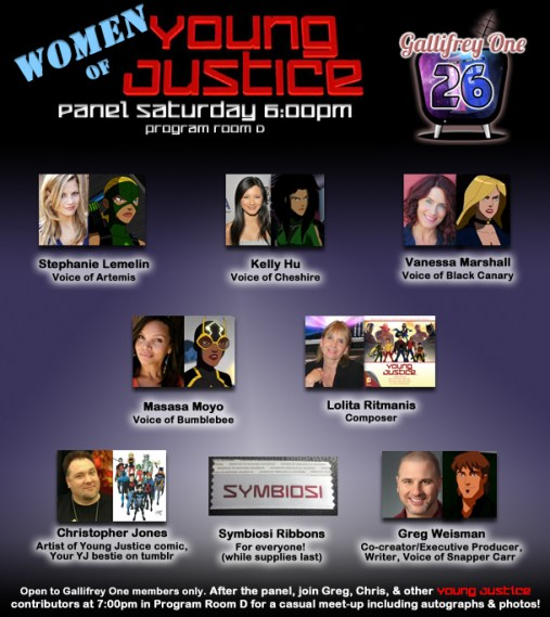 women of young justice promo image