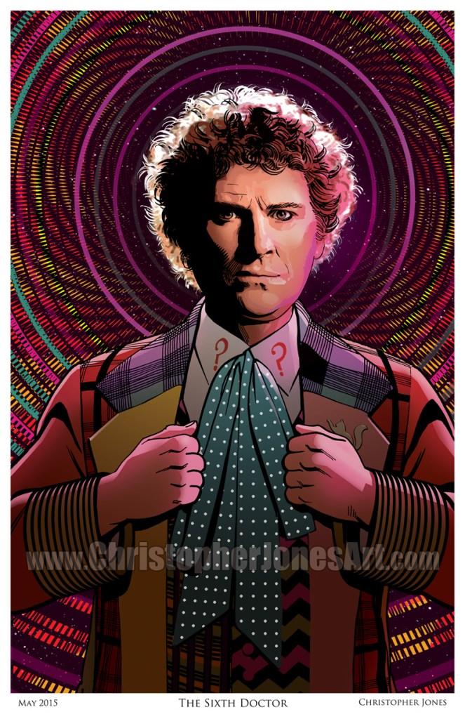 The Sixth Doctor - Framed prev
