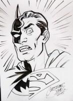 Sketch - Composite Superman headshot