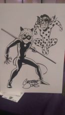 2 Character - LadyBug & CatNoir