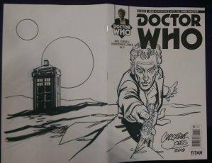 Sketch Cover - Capaldi Wrap