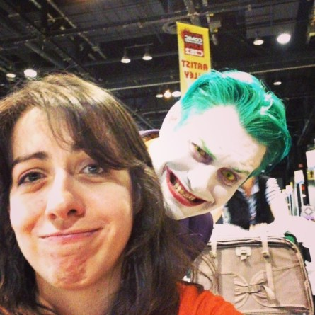 Kristen Cella with Mister J at C2E2 2016