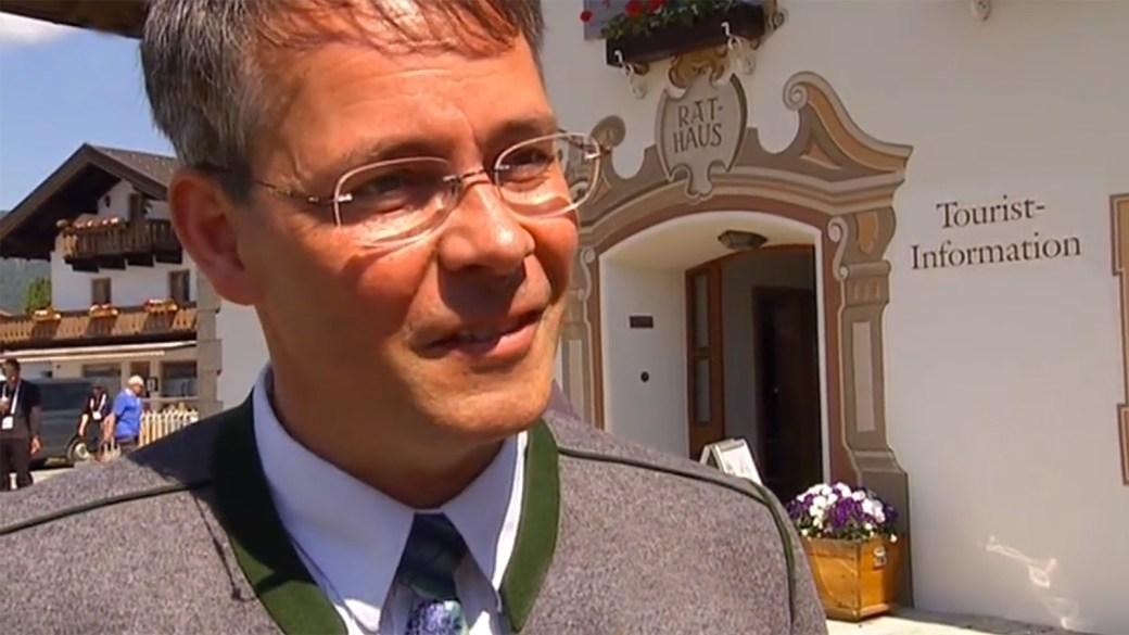 Thomas Schwarzenberger, Bürgermeister von Krün
