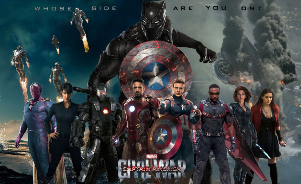 Plakatmotiv: Captain America: Civil War (2016)